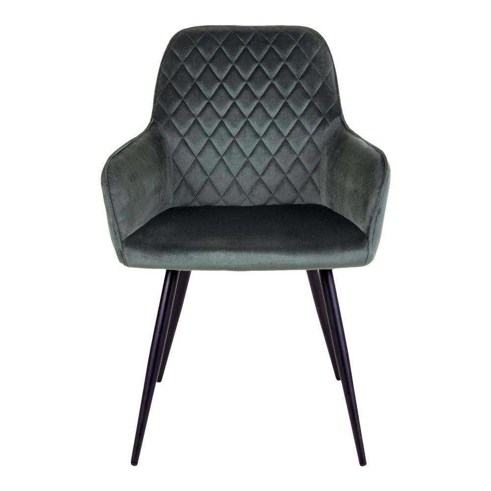 Harbo stol grøn velour
