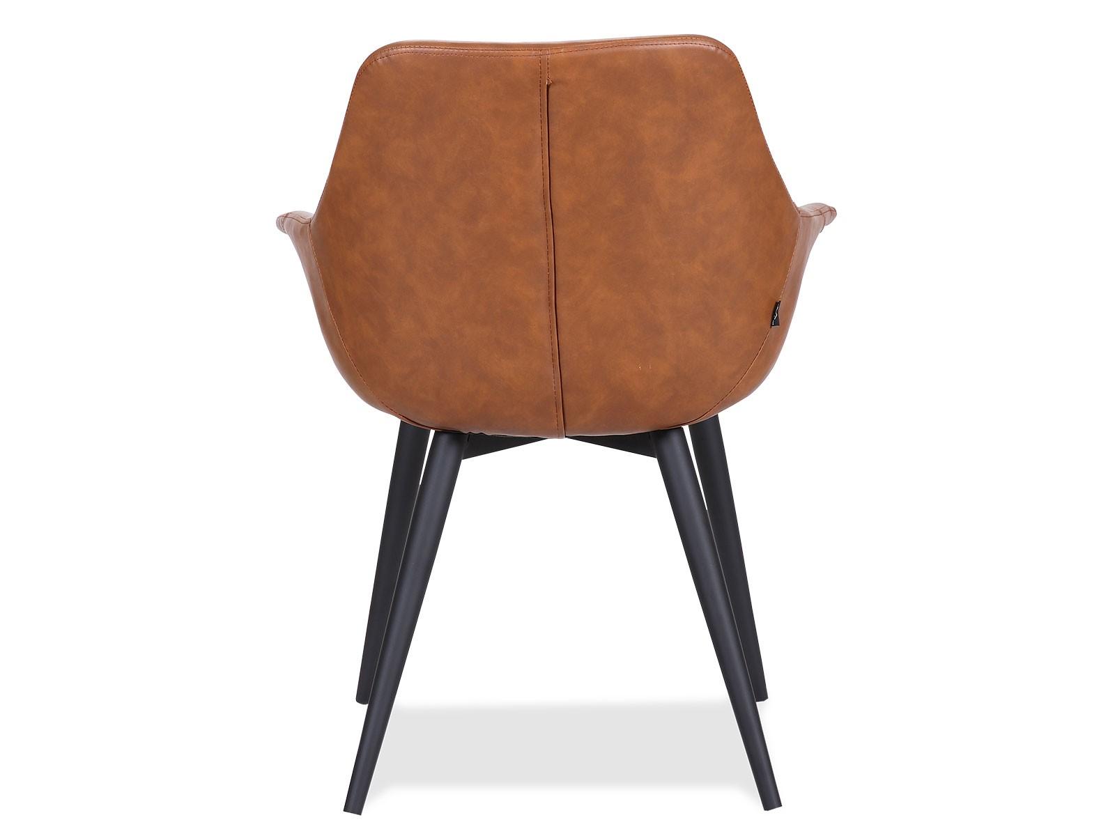Elegant Signe stol i Cognac farve