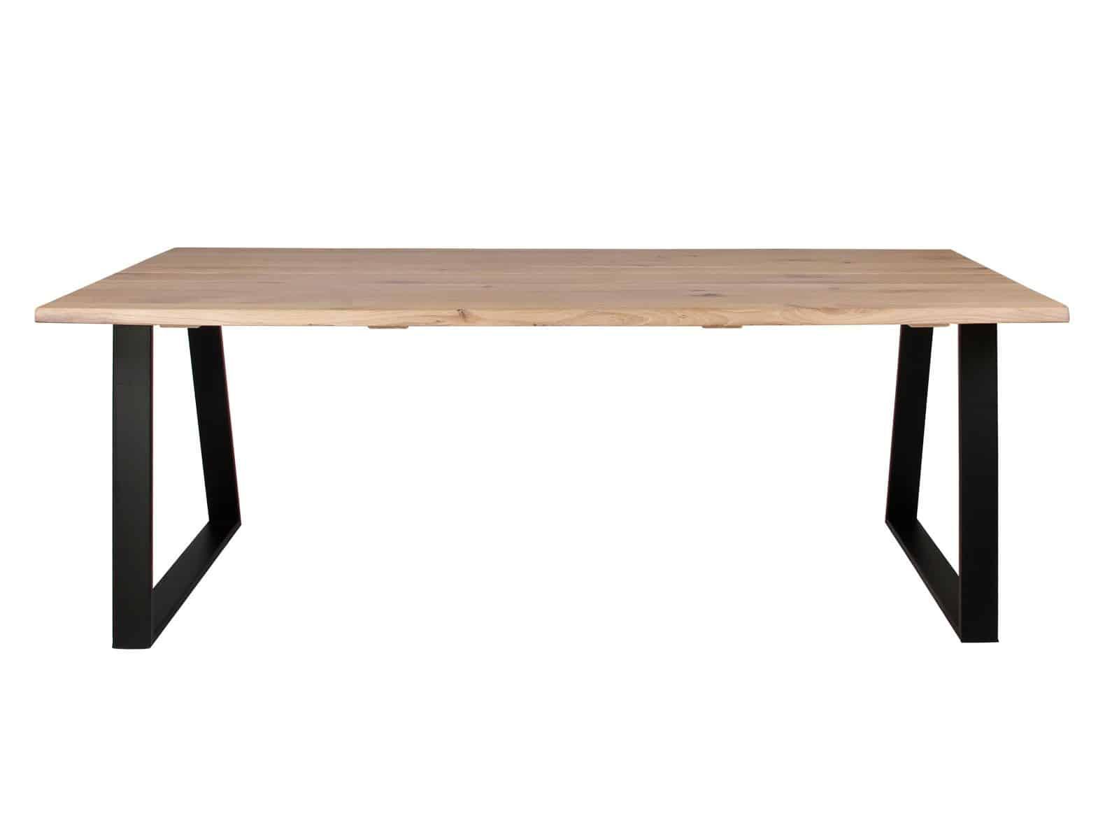 Trapez stel på plankebord