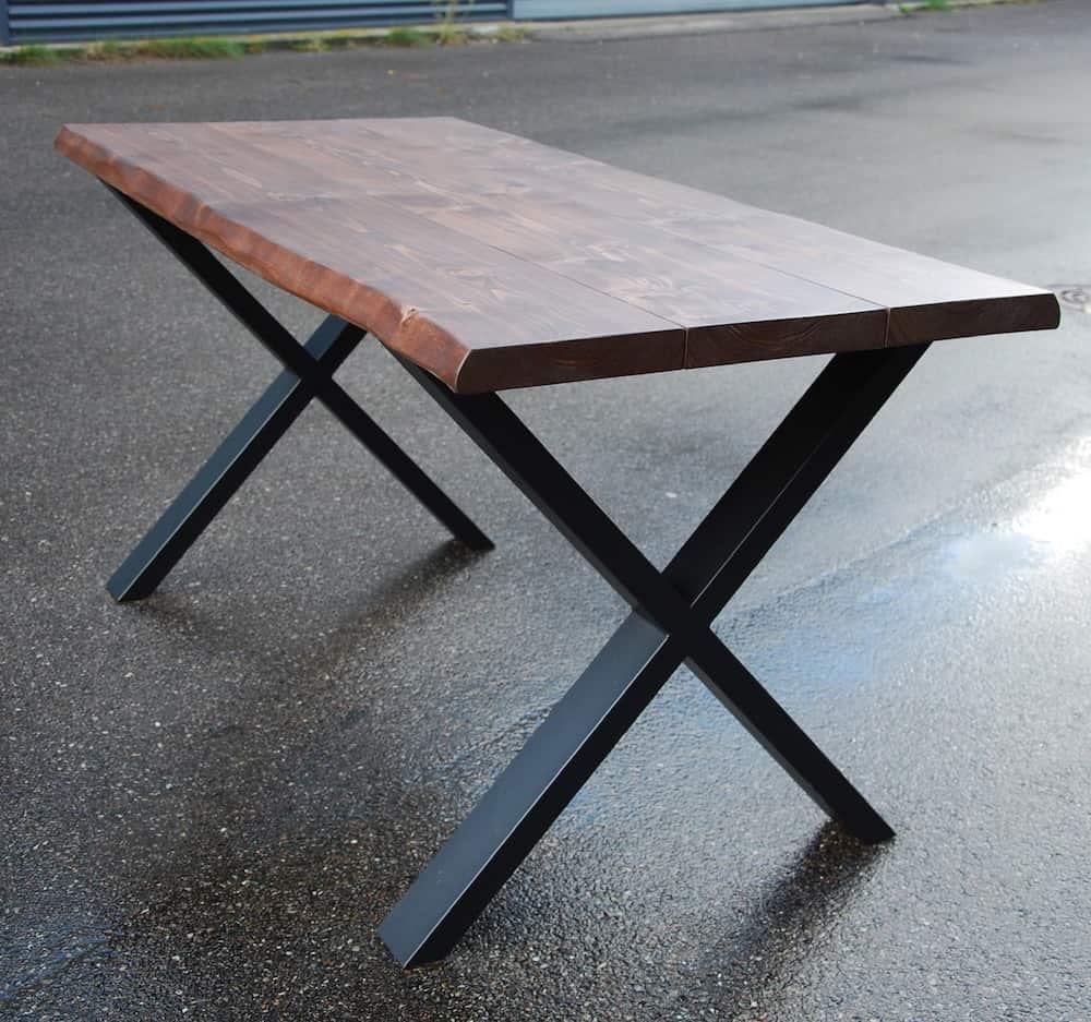 """alt=""""plankebord fyrretræ x-ben"""""""