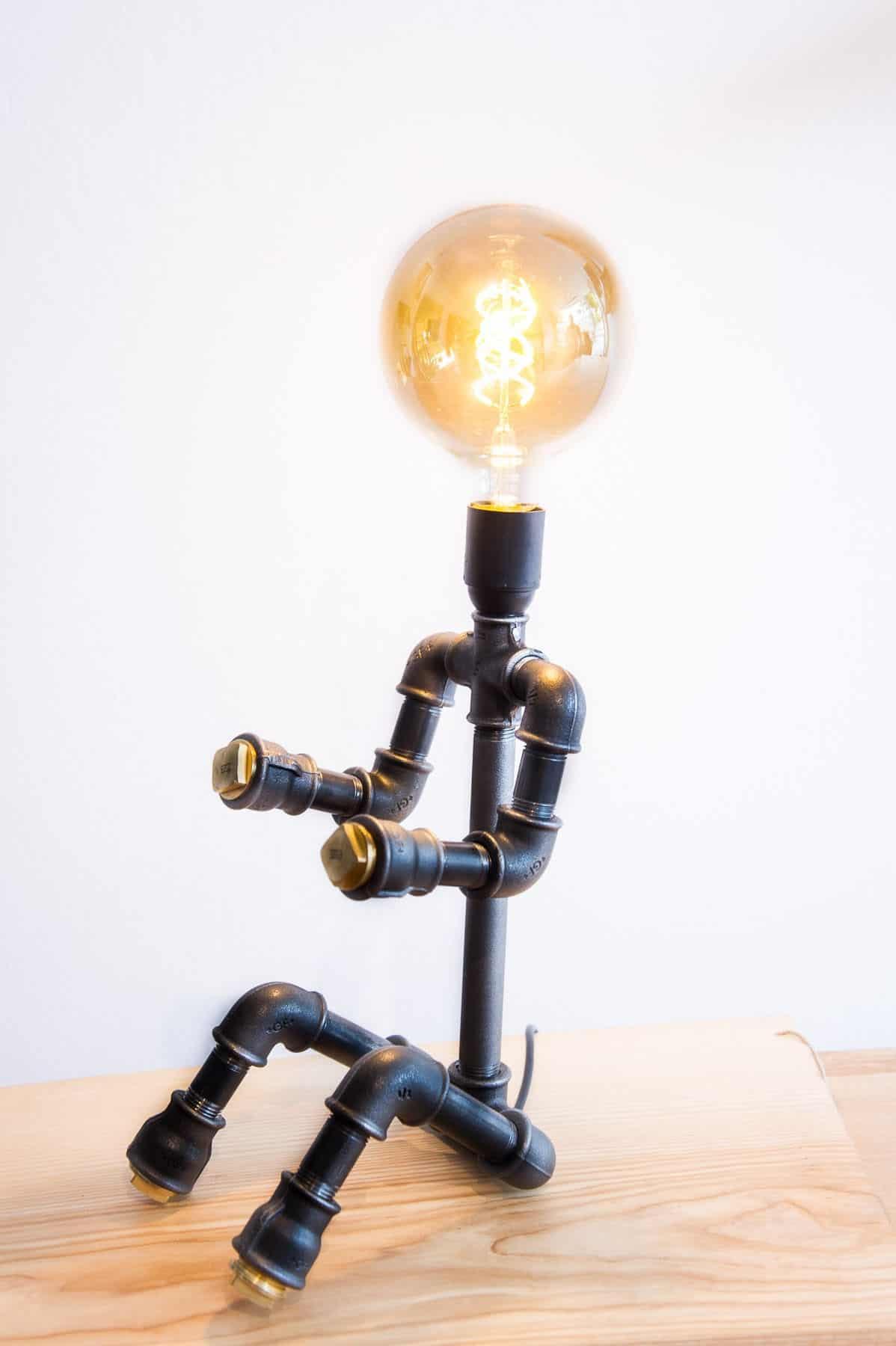 Hjælpers ven lampe