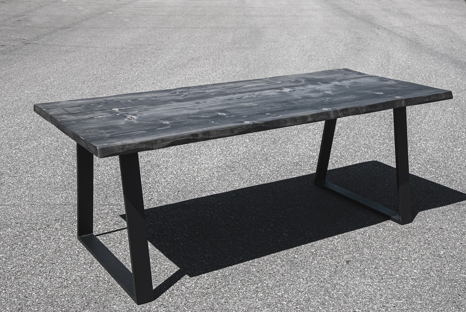 Sort plankebord