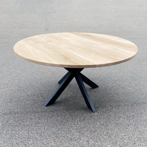 """alt=""""rundt plankebord egetræ"""""""